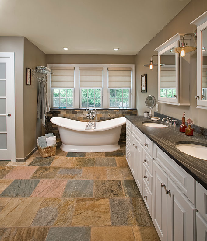 Eclectic Bathrooms Designs & Remodeling